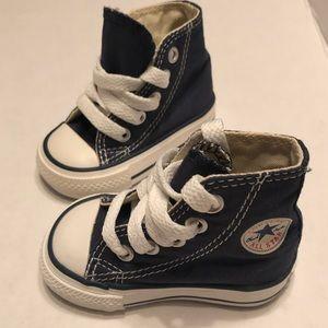 Converse Denim all stars baby High tops SZ 2